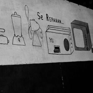 Repairman sign – Archive Objets réinventés