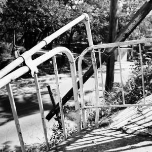 Stair railing - Santiago de Cuba - Archive Objets réinventés