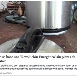¿Cómo se hace una 'Revolución Energética' sin piezas de repuesto?